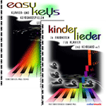2er-Set easy keys und Kinderlieder